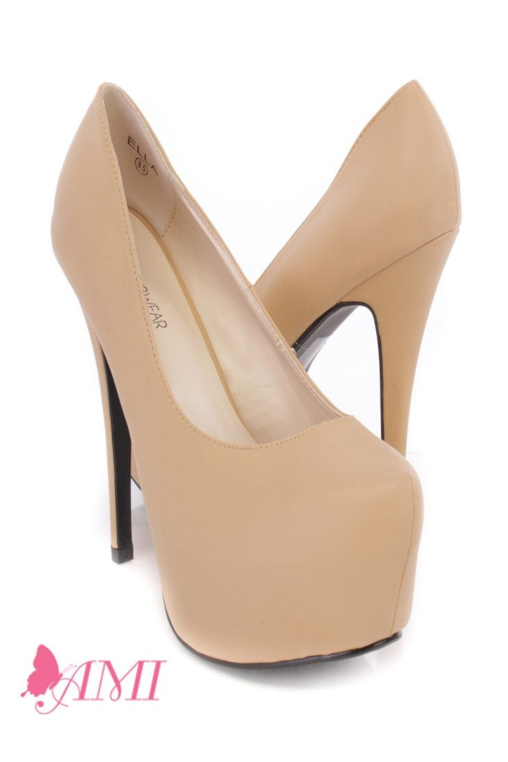 High Heels Faux Leather | Heels, Pumps