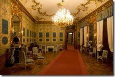 Schloss Schonbrunn - Blue Chinese Salon