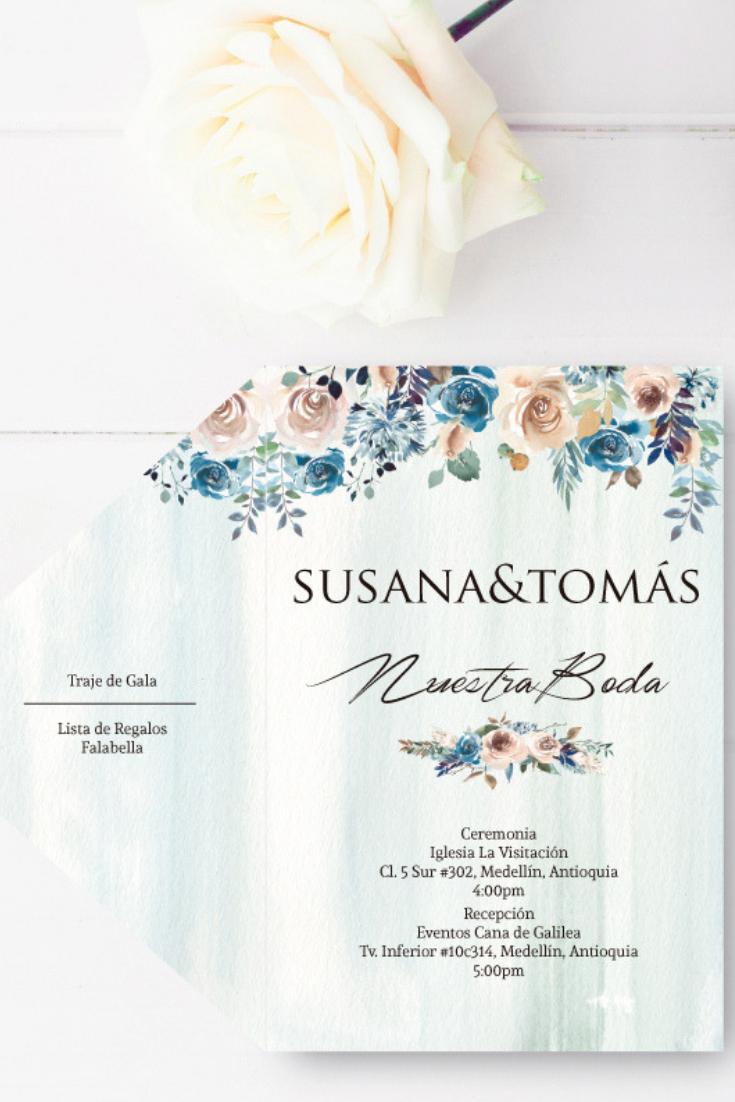 7 Invitaciones Para 7 Estilos De Matrimonio Invitaciones
