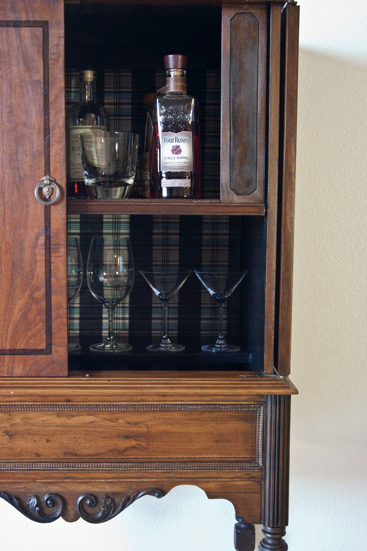 Antique Liquor Cabinet. $625.00, via Etsy. Pickup in LA. From old radio - Antique Liquor Cabinet. $625.00, Via Etsy. Pickup In LA. From Old