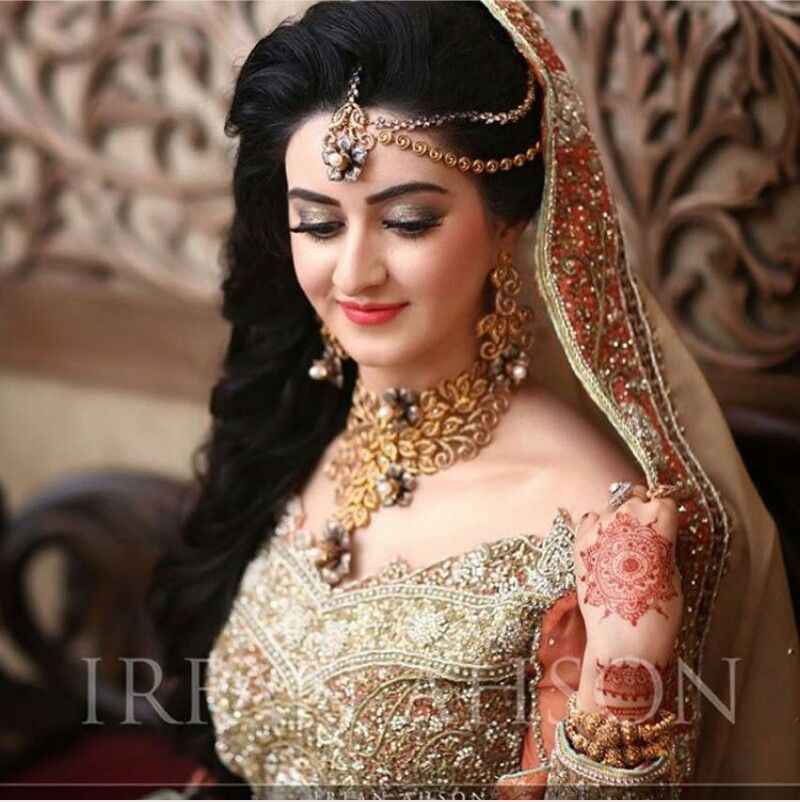 Pakistani Bridal Makeup, Bride