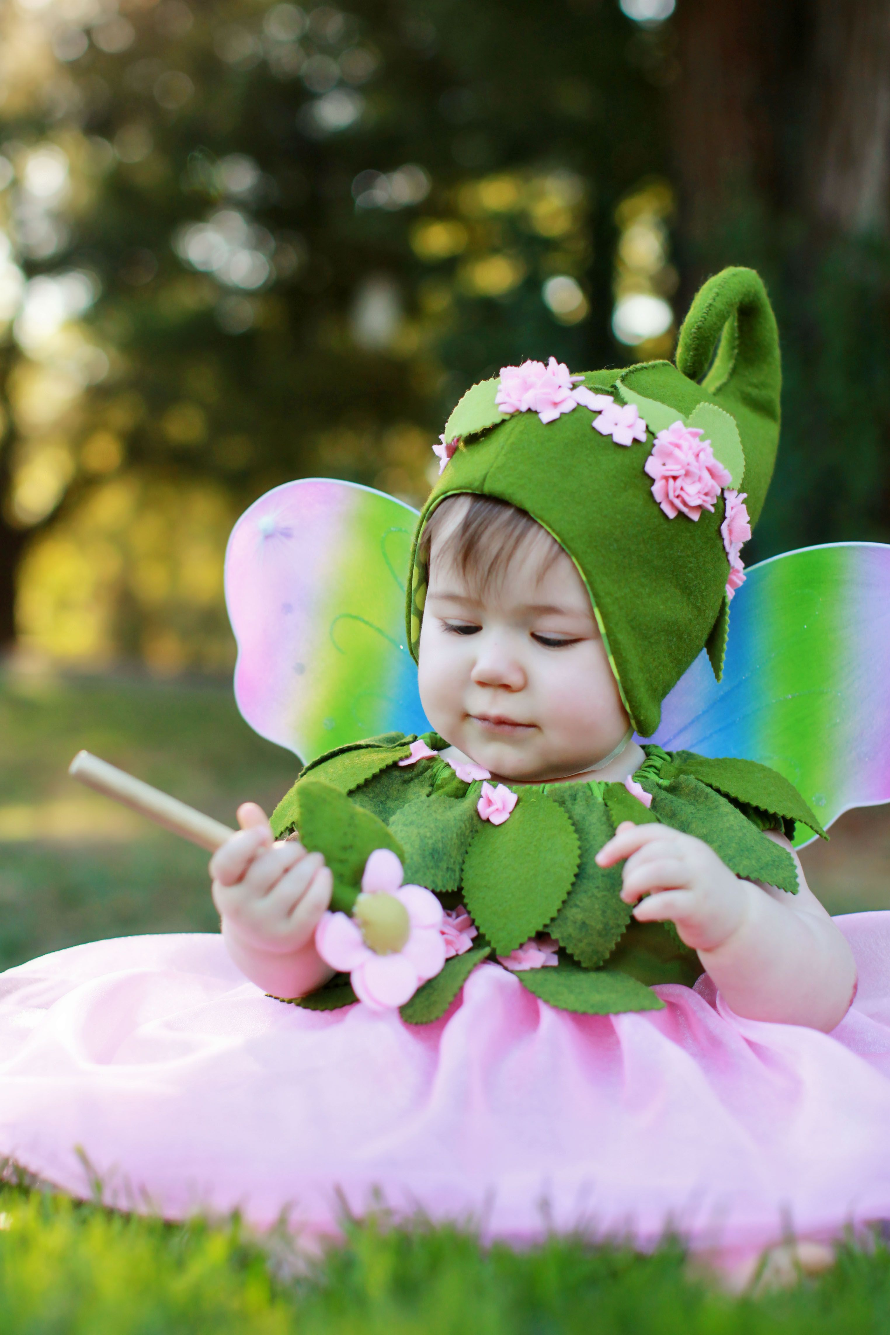Really cute flower fairy | Kids' Costumes | Baby fairy ...