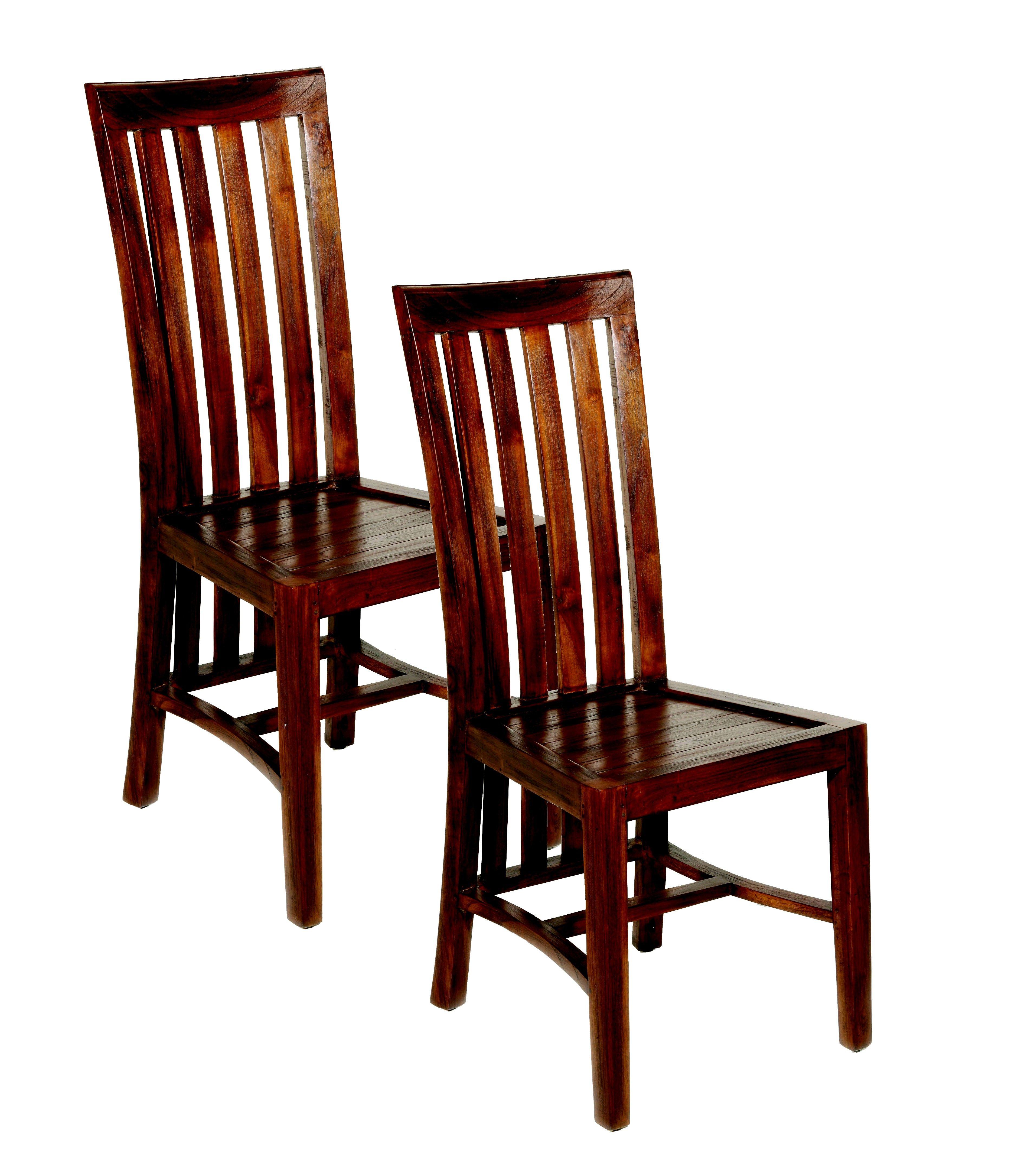 Lot De 2 Chaises En Mindi 45x61x104cm Lola Home Decor Dining Chairs Decor