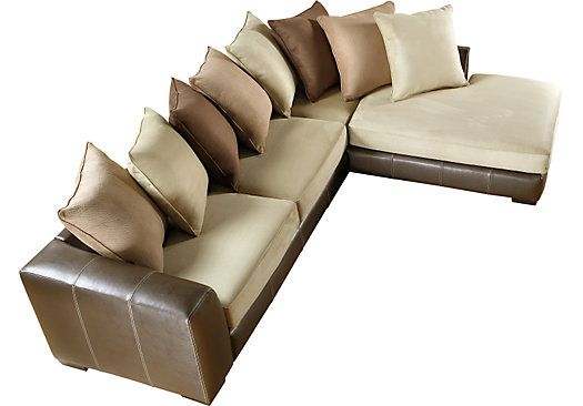 Gregory Beige 2 Pc Sectional PC Living room sets and Room set