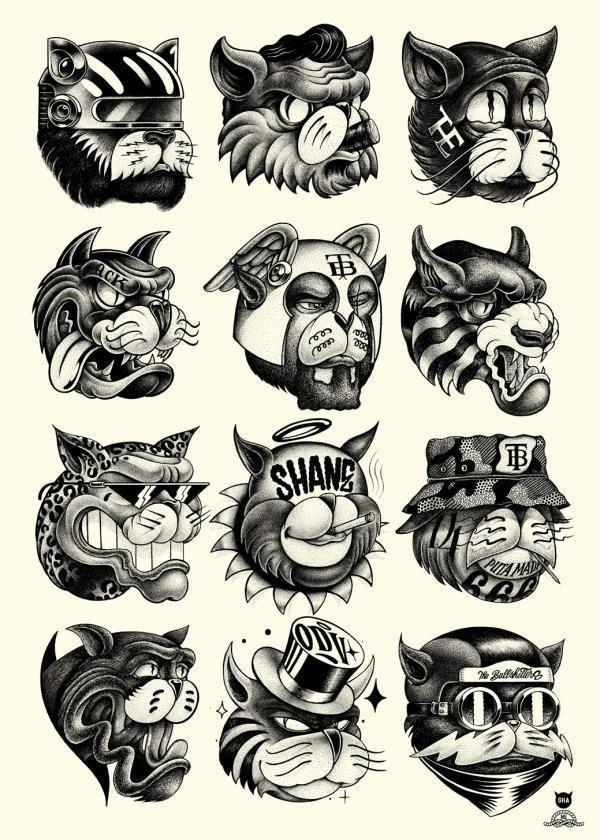 Más de 40 diseños espectaculares para remeras o imprimirlos y usarlos como posters o cuadros!. Si te gustó el post te dejo la primera parte y próximamente subiré una tercera!. (Click en la la imagen para ir al primer post)....