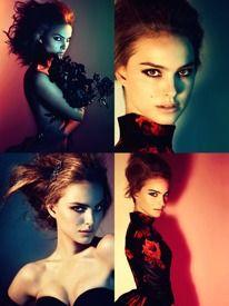 Natalie Portman by Heidi Slimane   AnOther   Loves — Designspiration
