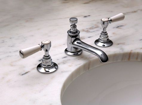 Traditional Single Spout Bath Faucets