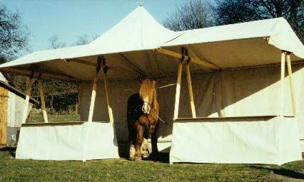 Medival Stand Booth Displays Market Stalls Exhibition