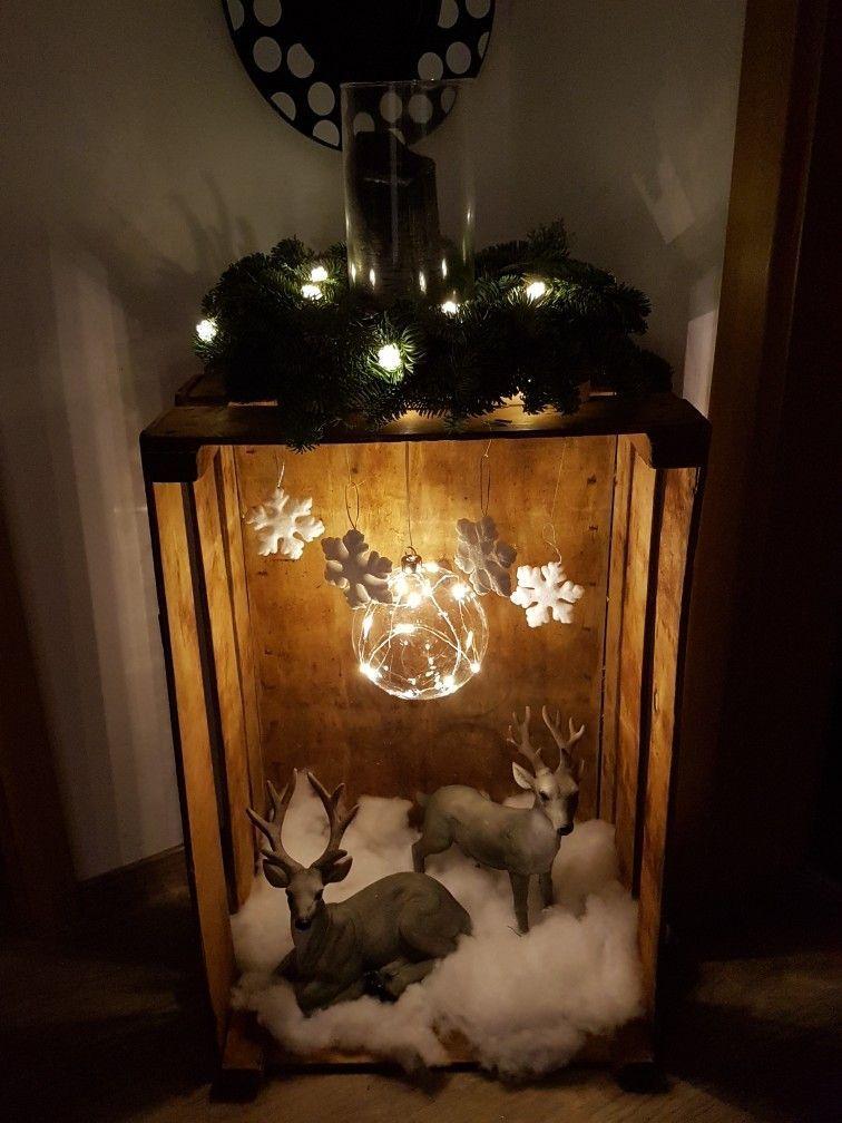Deko #rustikaleweihnachten Deko