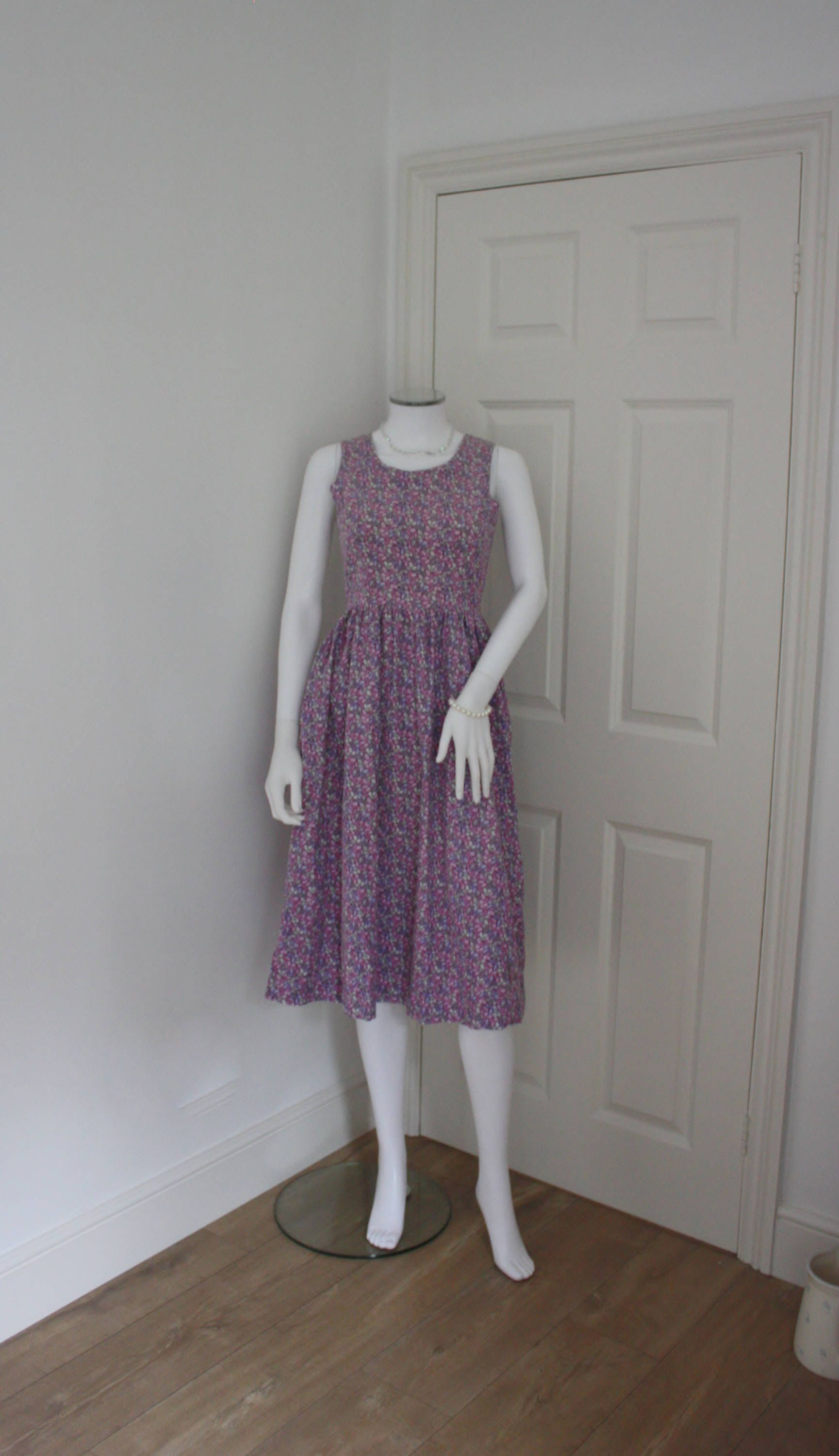 17ea162ae51c Laura Ashley cord dress - needle cord - vintage corduroy midi dress -  pinafore style - Made in Carno Wales - 80's Laura Ashley by  GoingAroundAgain on Etsy