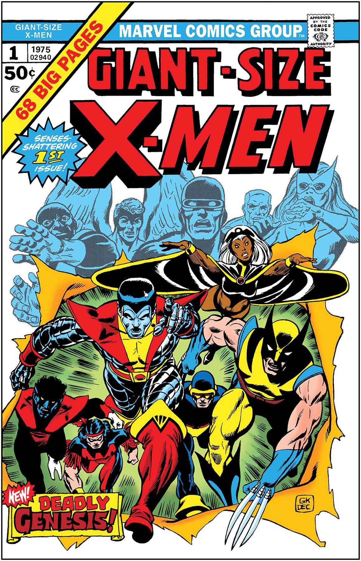True Believers Giant Size X Men 1 Marvel Comic Books Comic Book Covers Comic Covers