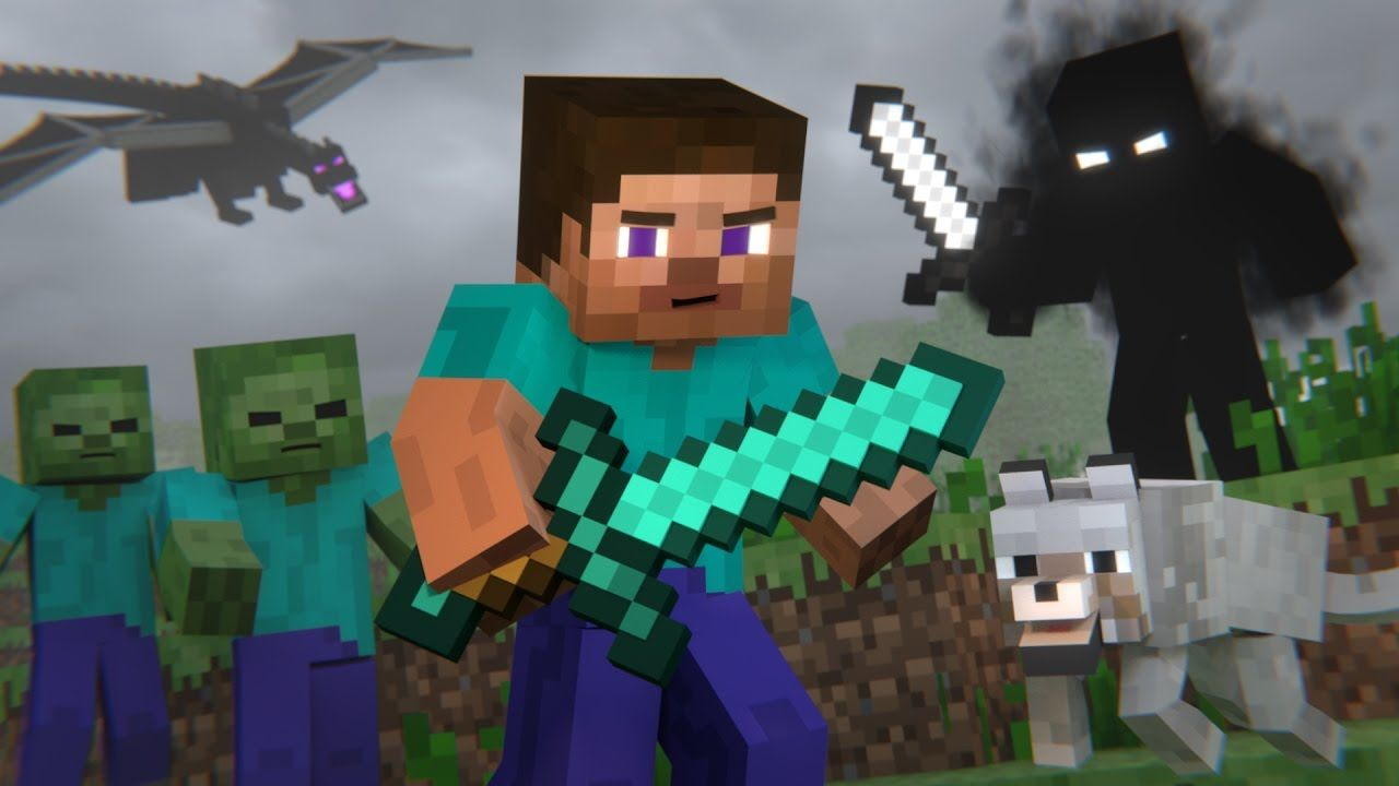 animated minecraft pictures | Animation Life (Minecraft Animation) - YouTube