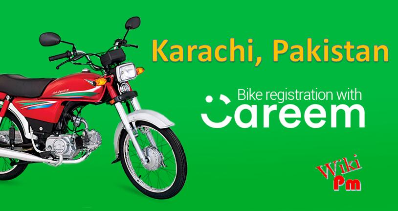 Careem Bike Registration Captain Requirements In Karachi Bike