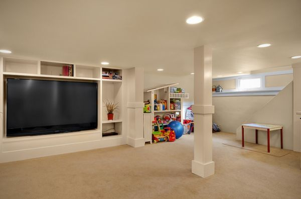 Finished Basement Ideas For Kids Interior Cool Pictures T