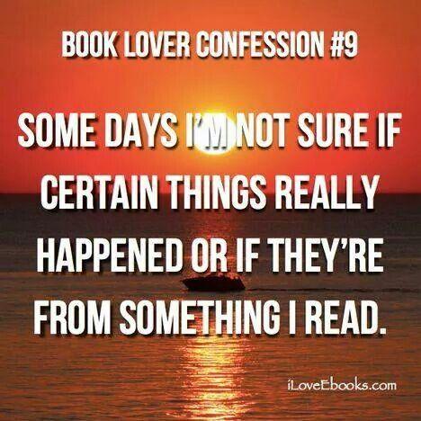 Book Lover Confession