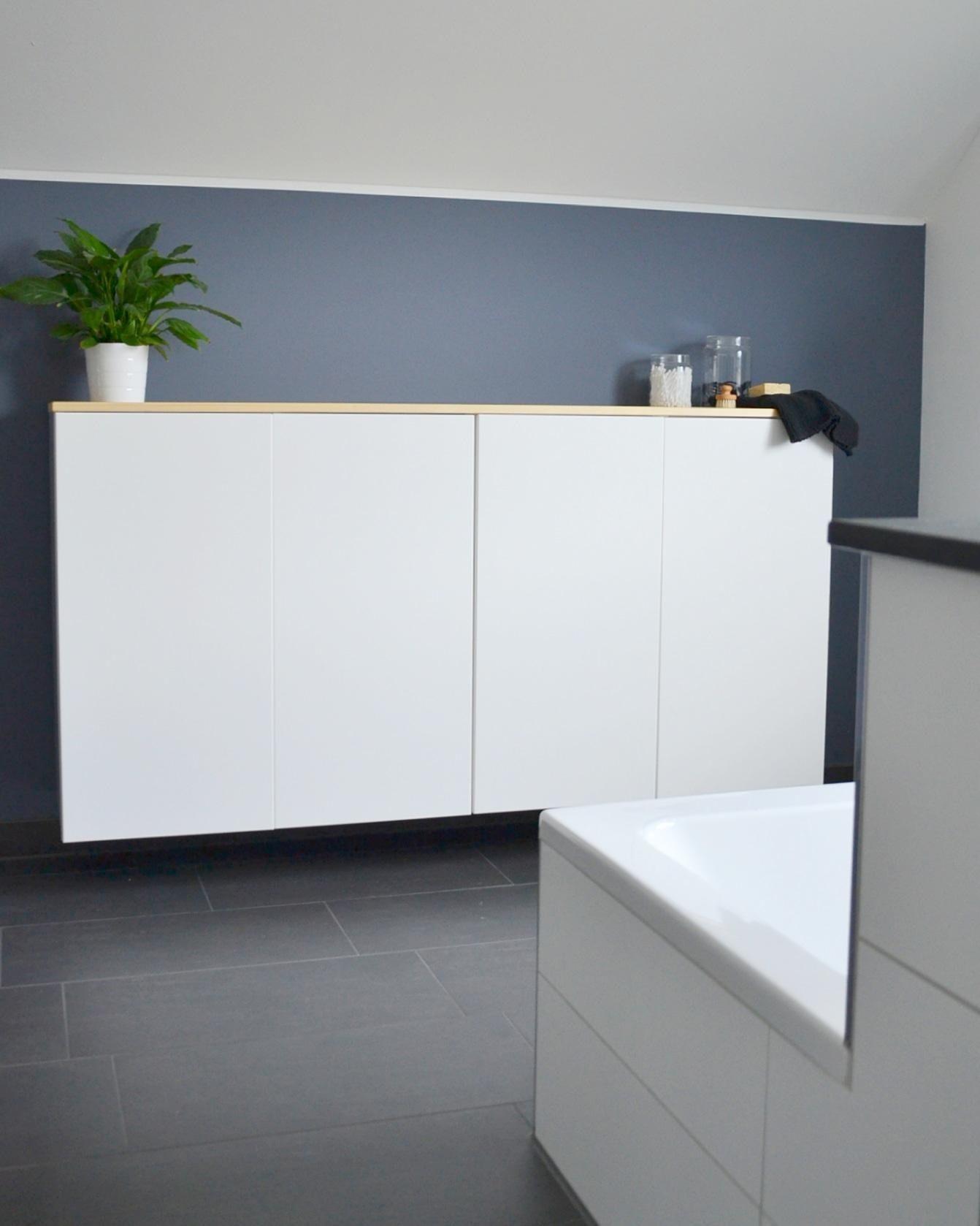 Ikea Kuchenschrank Umfunktioniert Zum Badschrank M