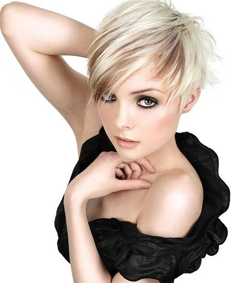 Super 1000 Images About Hairstyles On Pinterest Short Blonde Short Short Hairstyles Gunalazisus