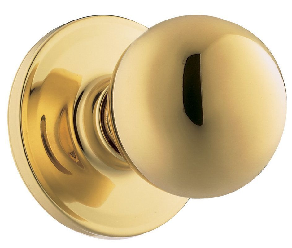 Weiser Lock GAC12Y Yukon Single Dummy Door Knob from the Elements ...