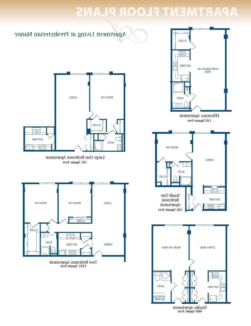 Luxury One Bedroom Apartment Floor Plans Bedroom Studio 1 2 Apartments In Atlanta Highla Studio Apartment Layout Small Apartment Plans Small Apartment Layout