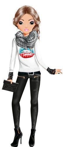 Afbeeldingsresultaat voor topmodel poppetjes film pinterest tekeningen mode en modellen - Dessin a imprimer top model ...