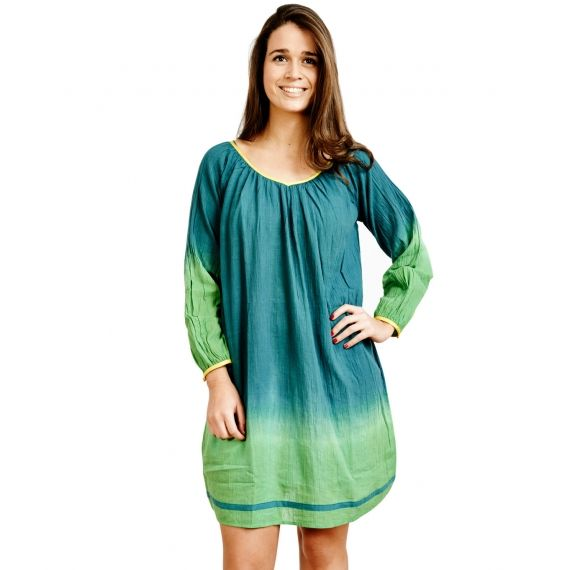 0b18184dd7 Aspiga Exclusive Designer Green California Tunic by Christophe Sauvat. £27.  Worldwide Shipping Available.