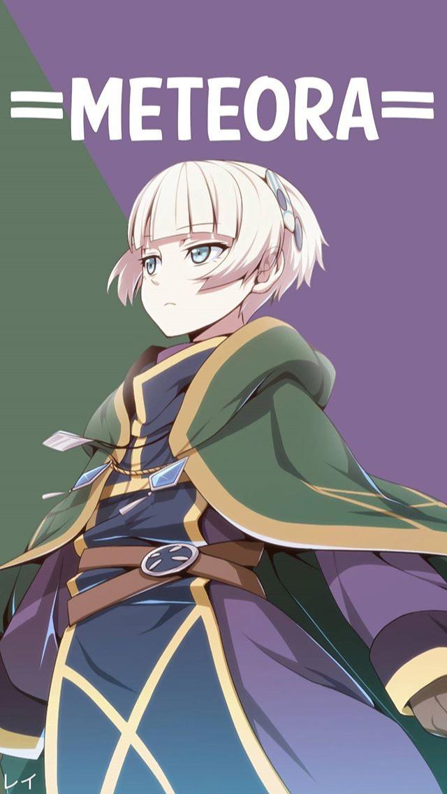 Meteora wallpaper anime in 2019 Anime character names