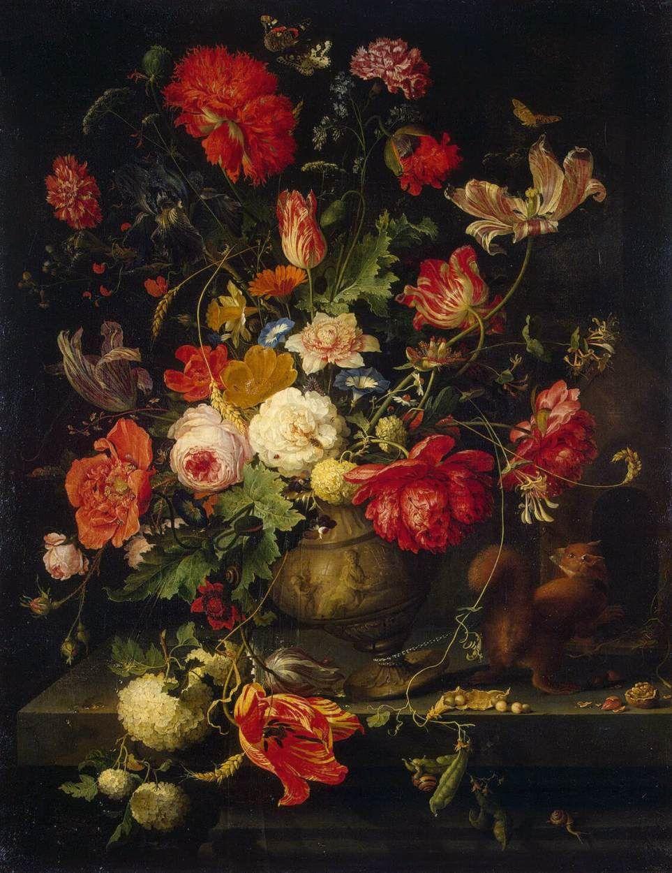 Vase of flowers abraham mignon dutch baroque era painter 1640 vase of flowers abraham mignon dutch baroque era painter 1640 1679 reviewsmspy