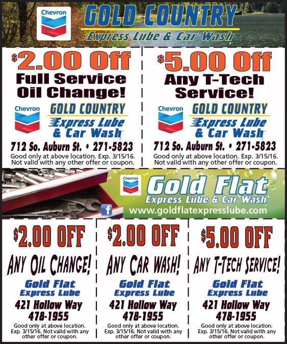 Car Wash Deals >> Gold Country Express Lube Car Wash Express Car Wash Car