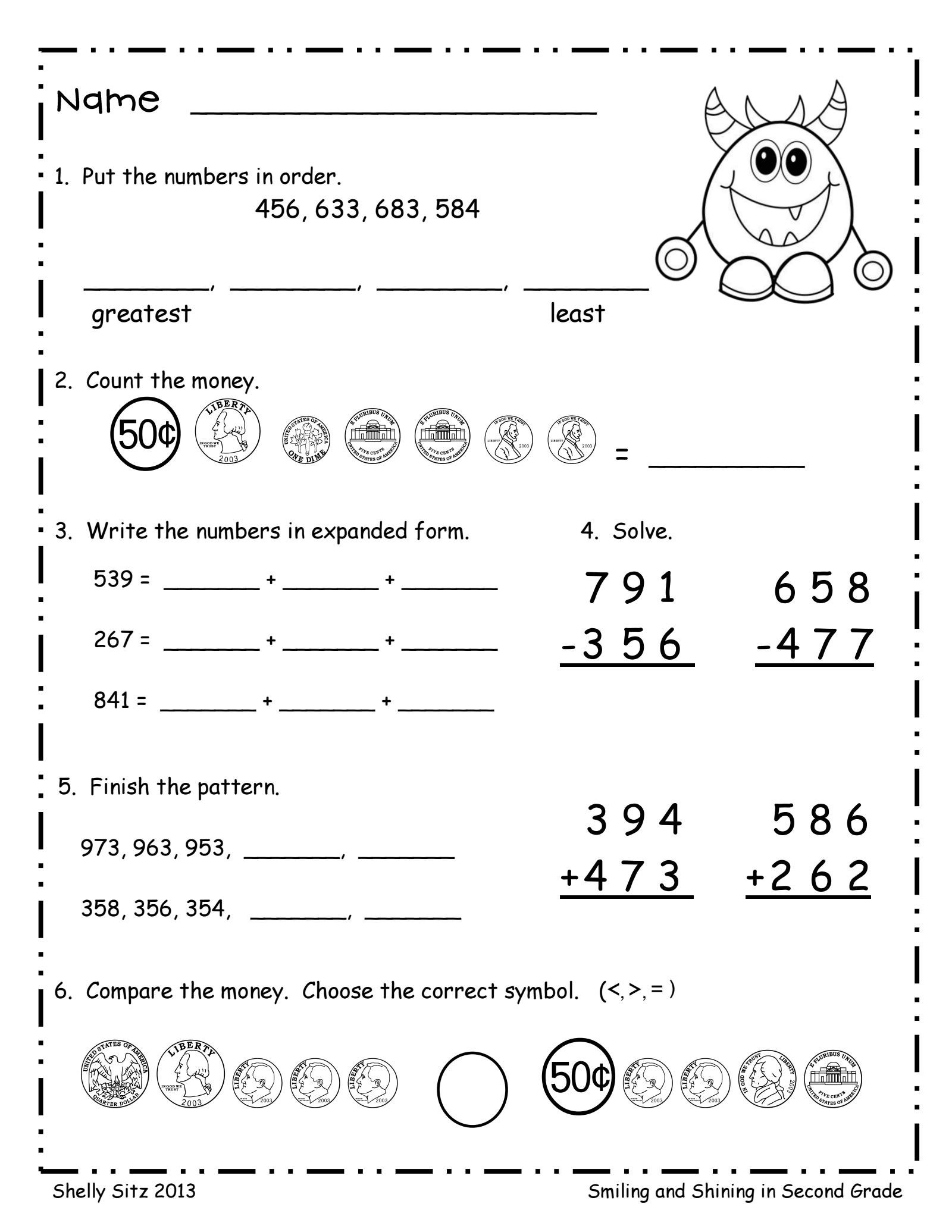Pin En Maths Worksheet