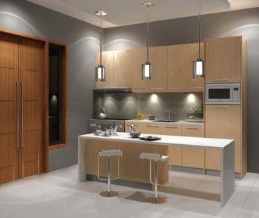 Gambar Dapur Minimalis Sederhana Mungil Cantik 2016 Simple Kitchen Design Modern Kitchen Design Kitchen Bar Design