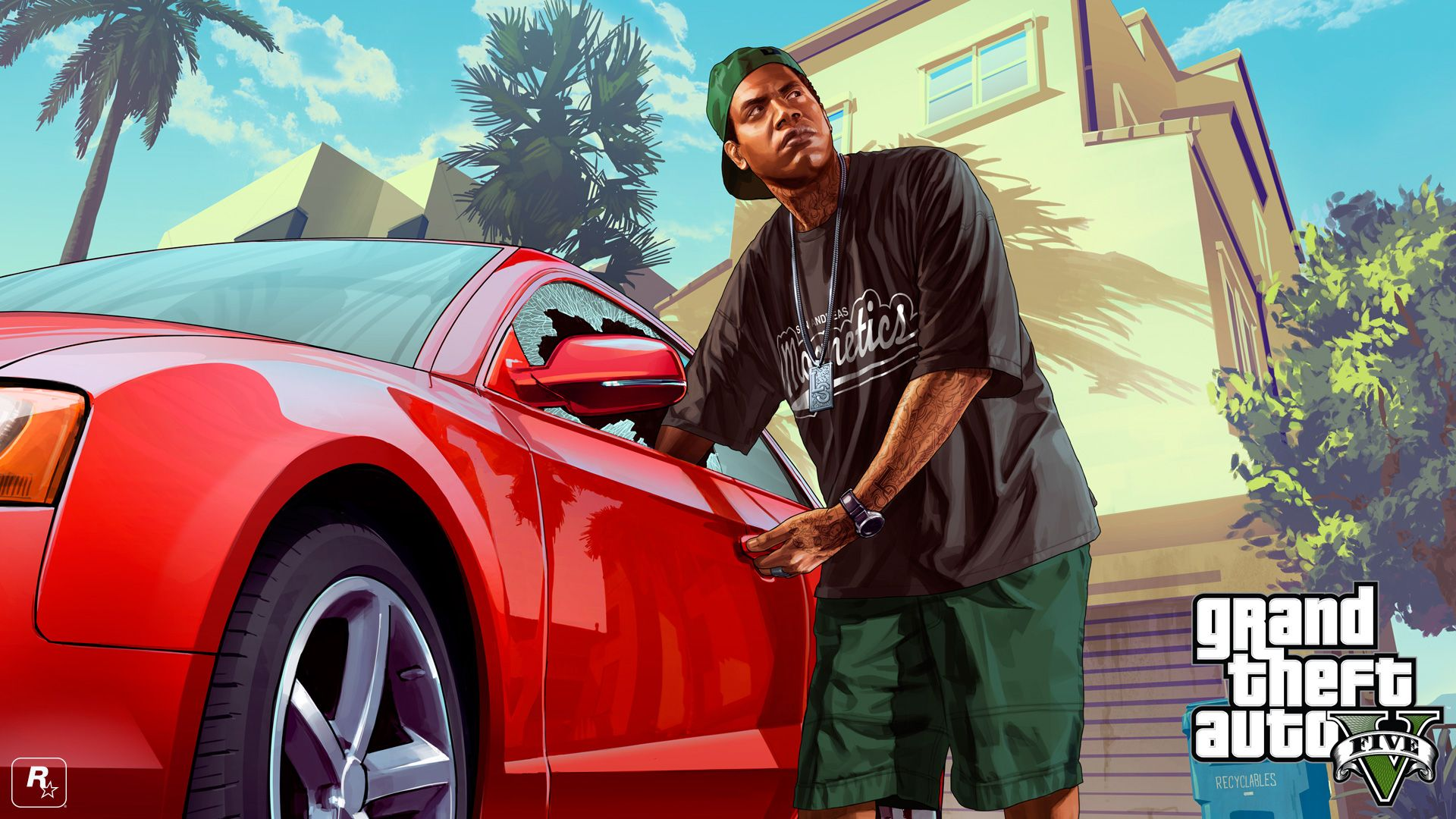 Grand theft auto v gets two new wallpapers ign