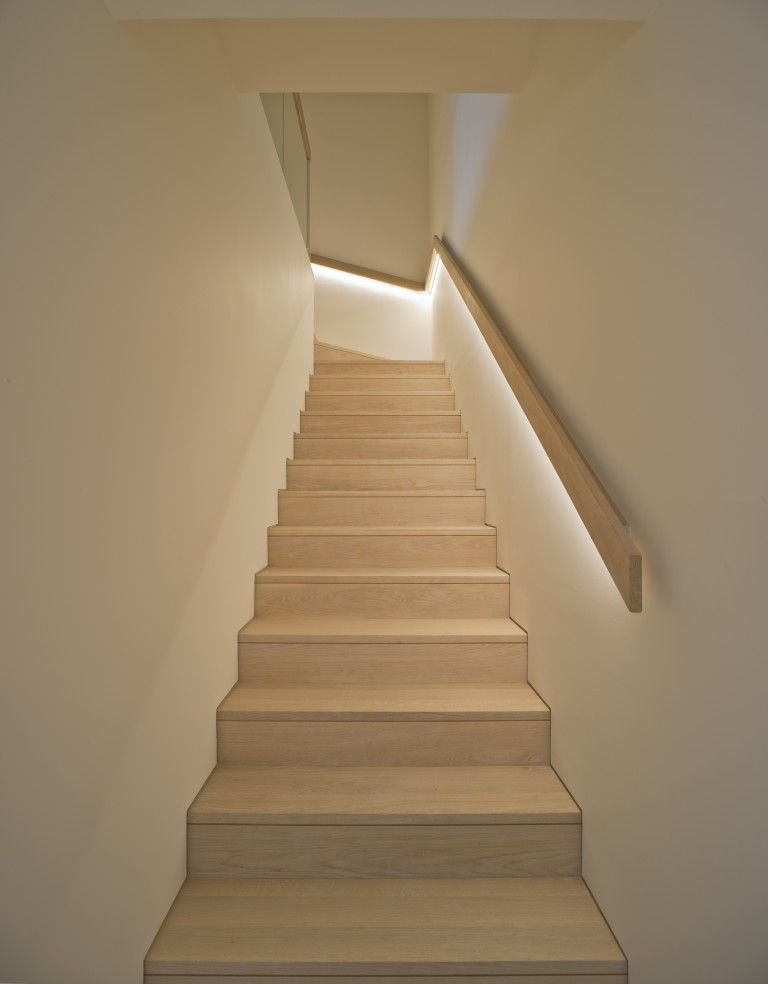 Commercial Basement Stair Lighting: Sky Penthouse At One Central Park
