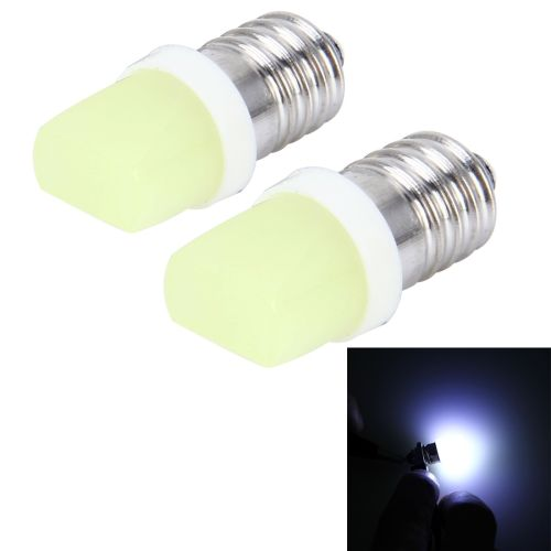 0 58 2 Pcs E10 2w 100 Lm 7000k Canbus Car Clearance Lights Lamp Dc 12v White Light Dropshippers Car Accessories Dropshipping