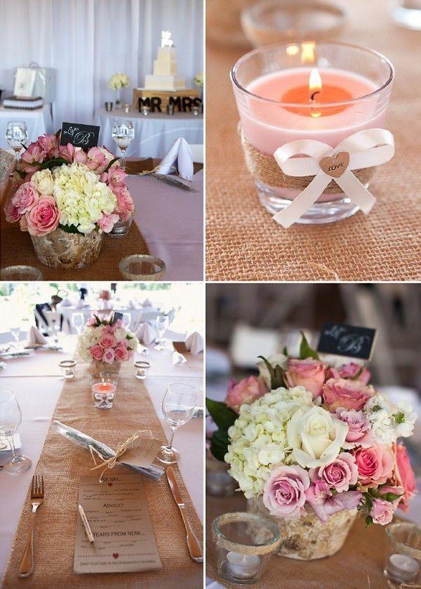 Jute Hochzeitsdeko Und Einladungskarten Inspiration Optimale
