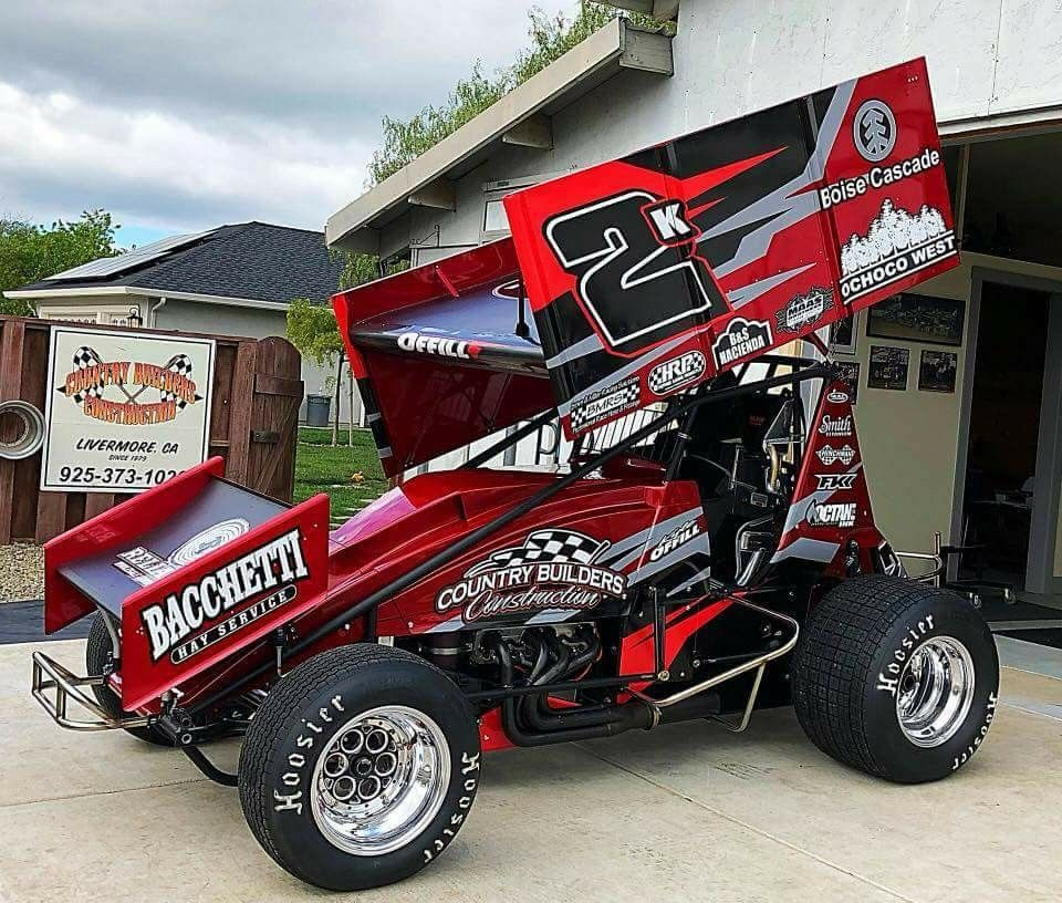 Sprint Car Racing Image By Nick Shaw On Sprint Cars