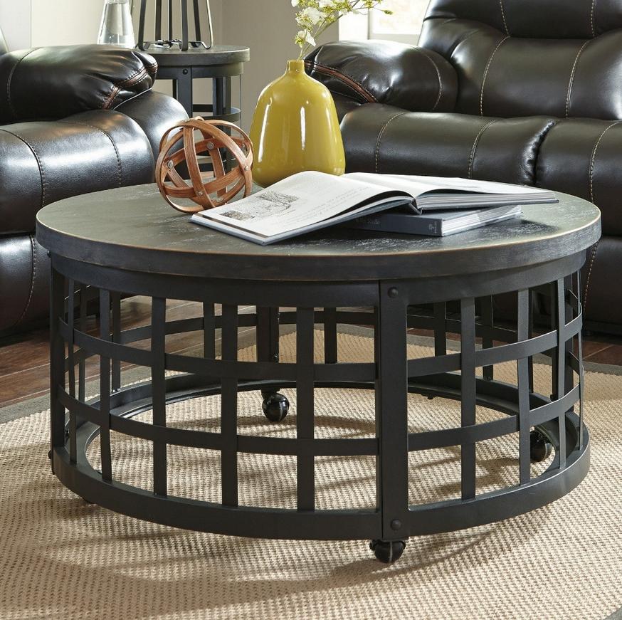 Round Marimon Metal Coffee Table