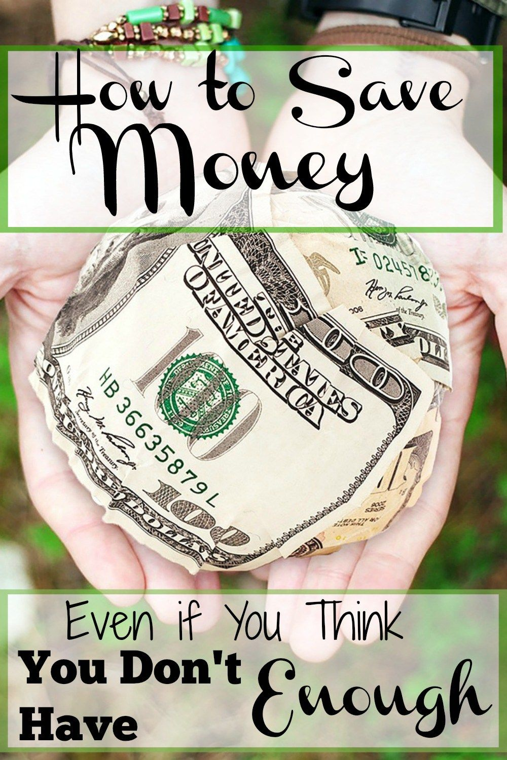 How to Save Money (for Real)