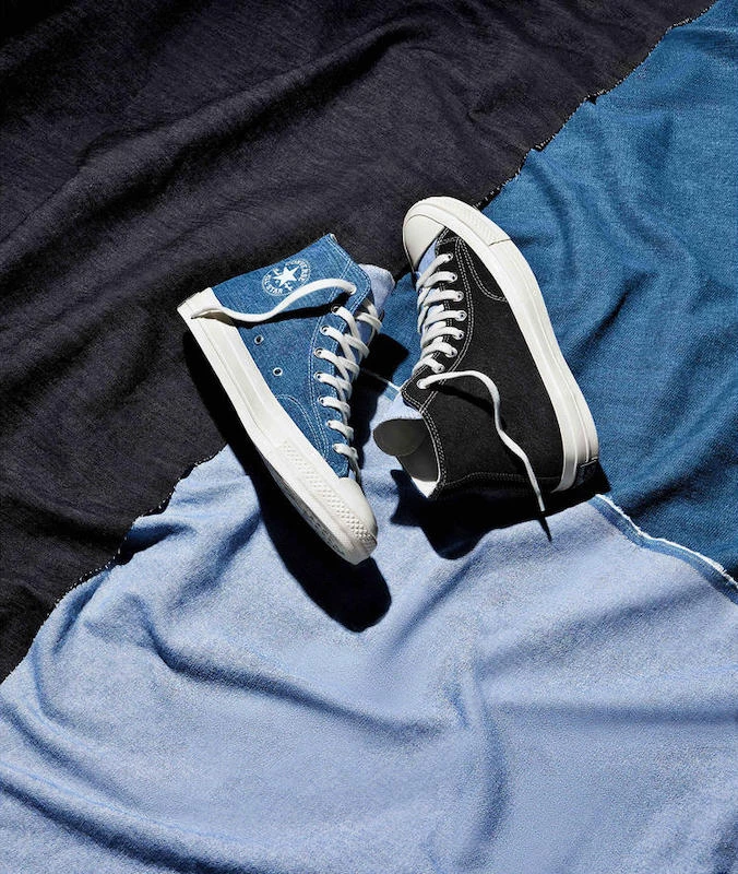 Converse Announces Upcycled Denim Chuck 70 | Converse, Cozy