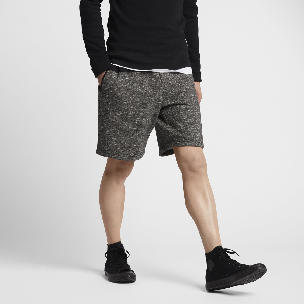 450228e4860c Converse Marled Blocked Men s Shorts Size Medium (Black) - Clearance Sale