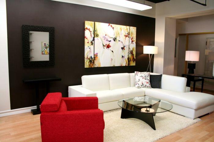 Wohnzimmer Blumen ~ Herrliche leinwandbilder blumen darstellung luxuriöses wohnzimmer
