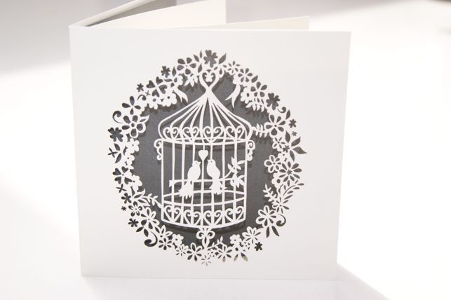 birdcage wedding invitations uk Googleda Ara 111 Pinterest