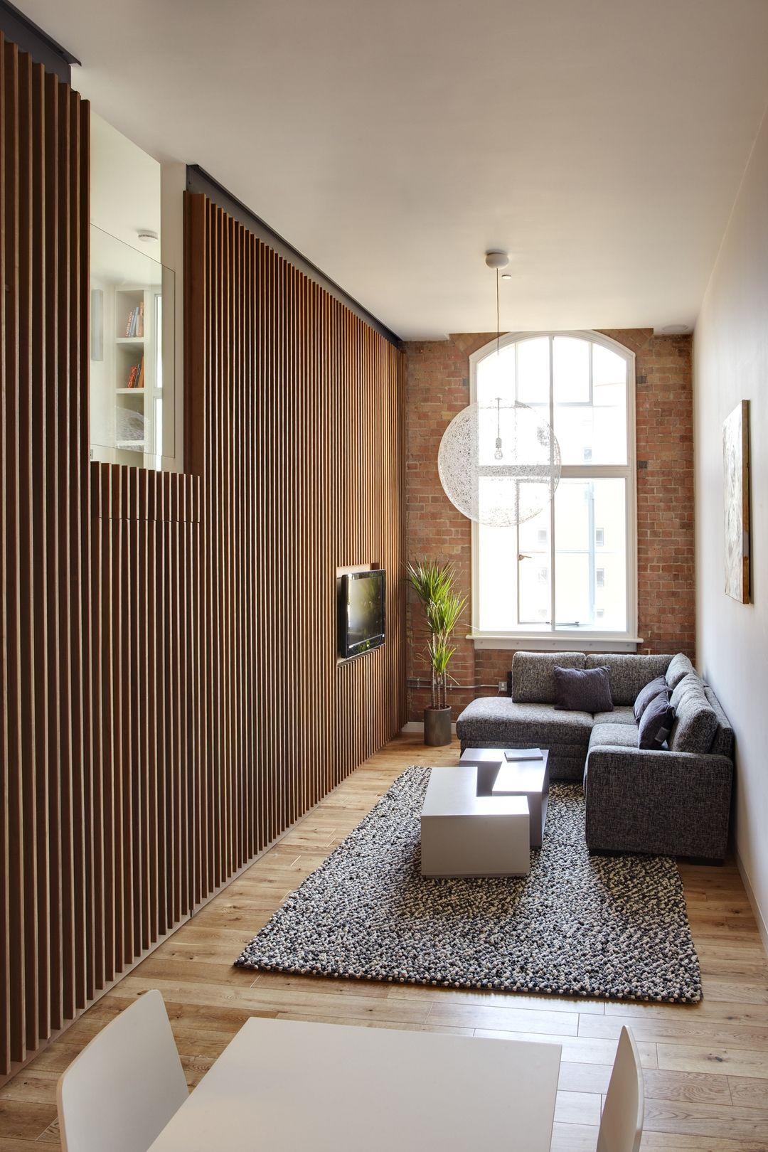 Apartment in Bow Quarter, London on Architizer | muebles | Pinterest