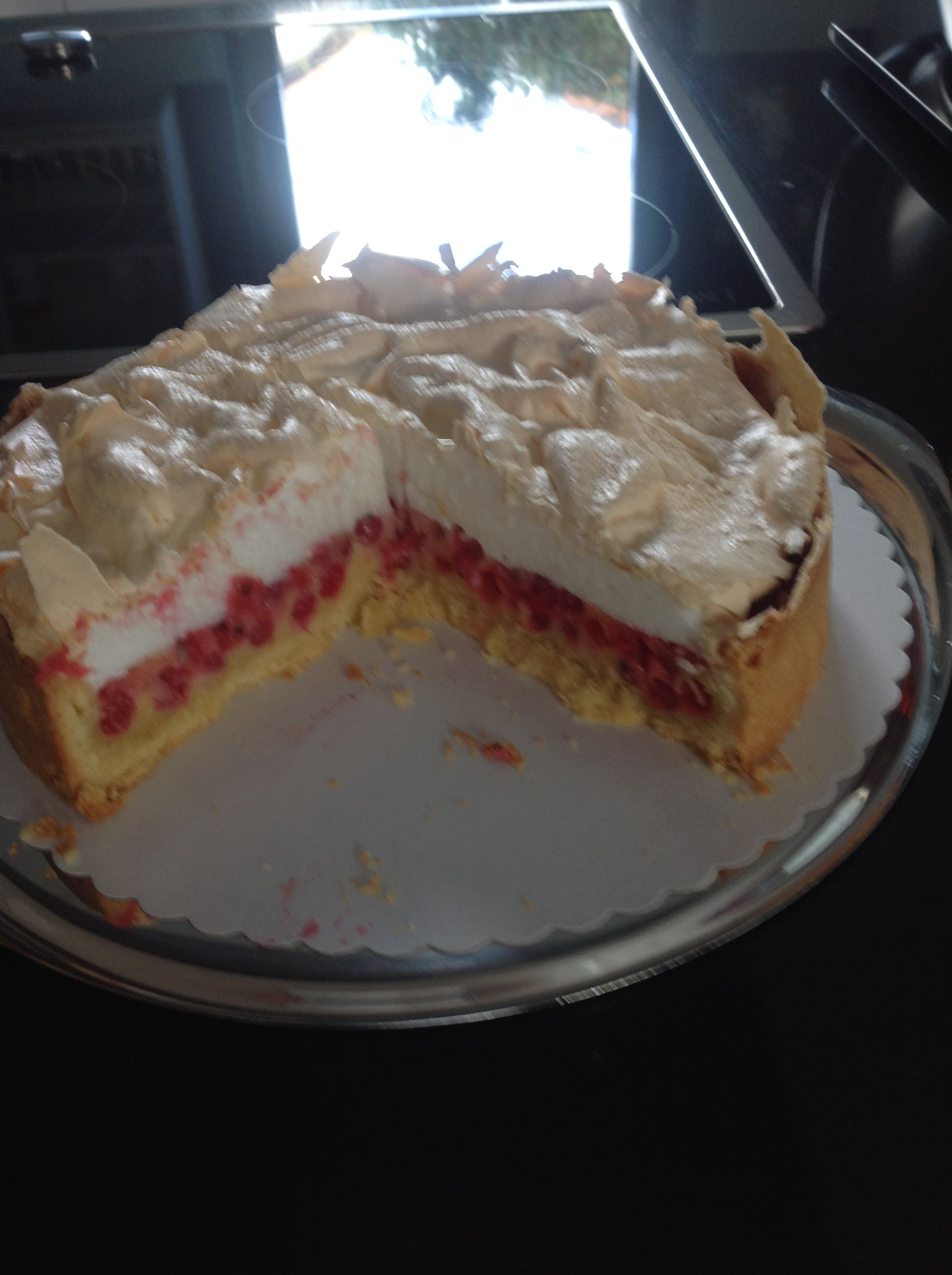 Johannisbeer Baiser Kuchen Rezept