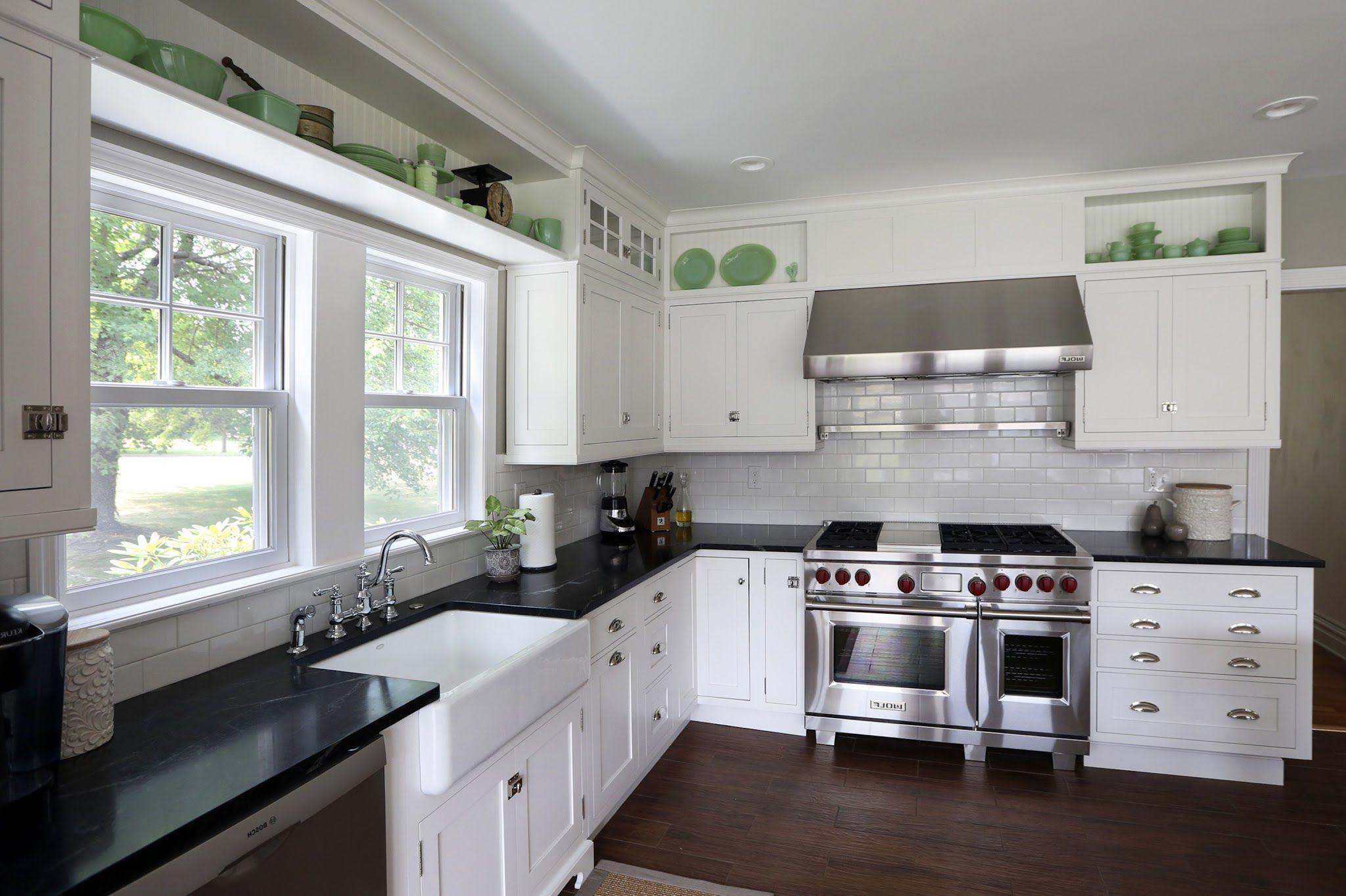 Küchenideen mit schwarzen schränken fliesenmuster für die küche backsplash küche kochfeld backsplash
