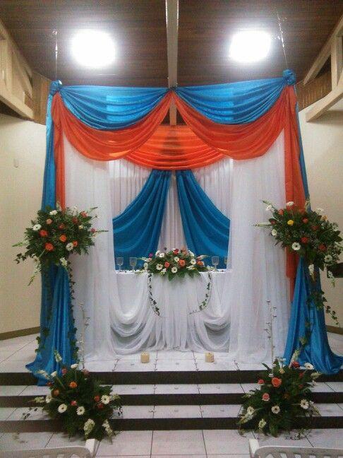 ALTAR A Jesús Sacramentado JMVCSG Arreglo floral Santísimo
