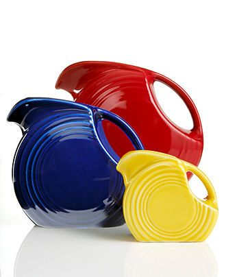 Fiesta Disk Pitcher Collection & Reviews - Dinnerware - Dining - Macy's