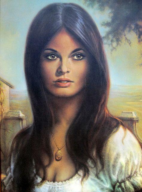 dale kelley she 39 s a lady 2 peinture portrait femme belles peintures. Black Bedroom Furniture Sets. Home Design Ideas