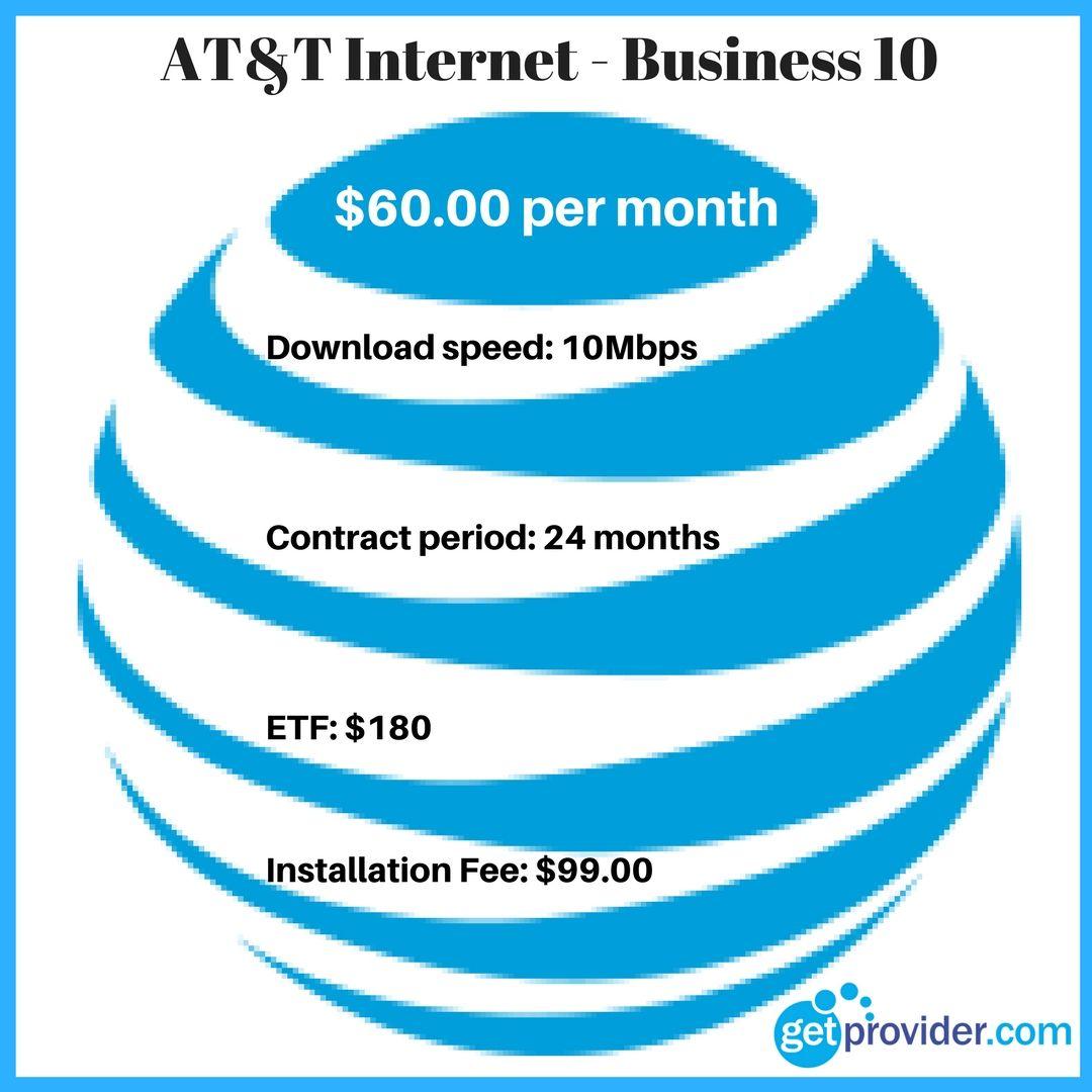 AT&T Business 10 Plan att