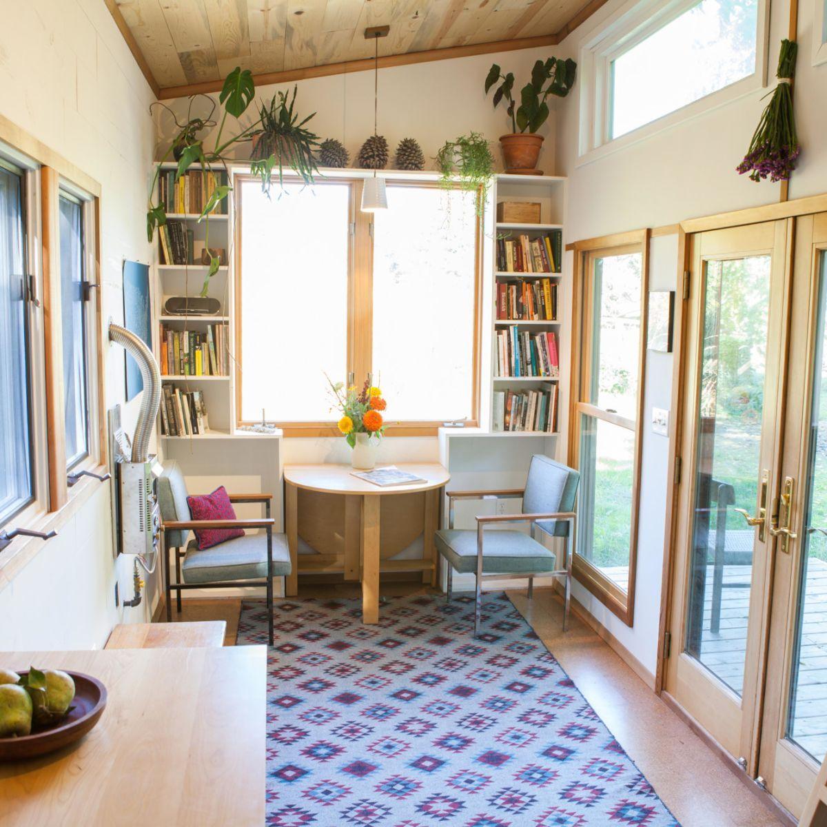 Beautiful, Special Tiny House! Passive Solar Design, Eco