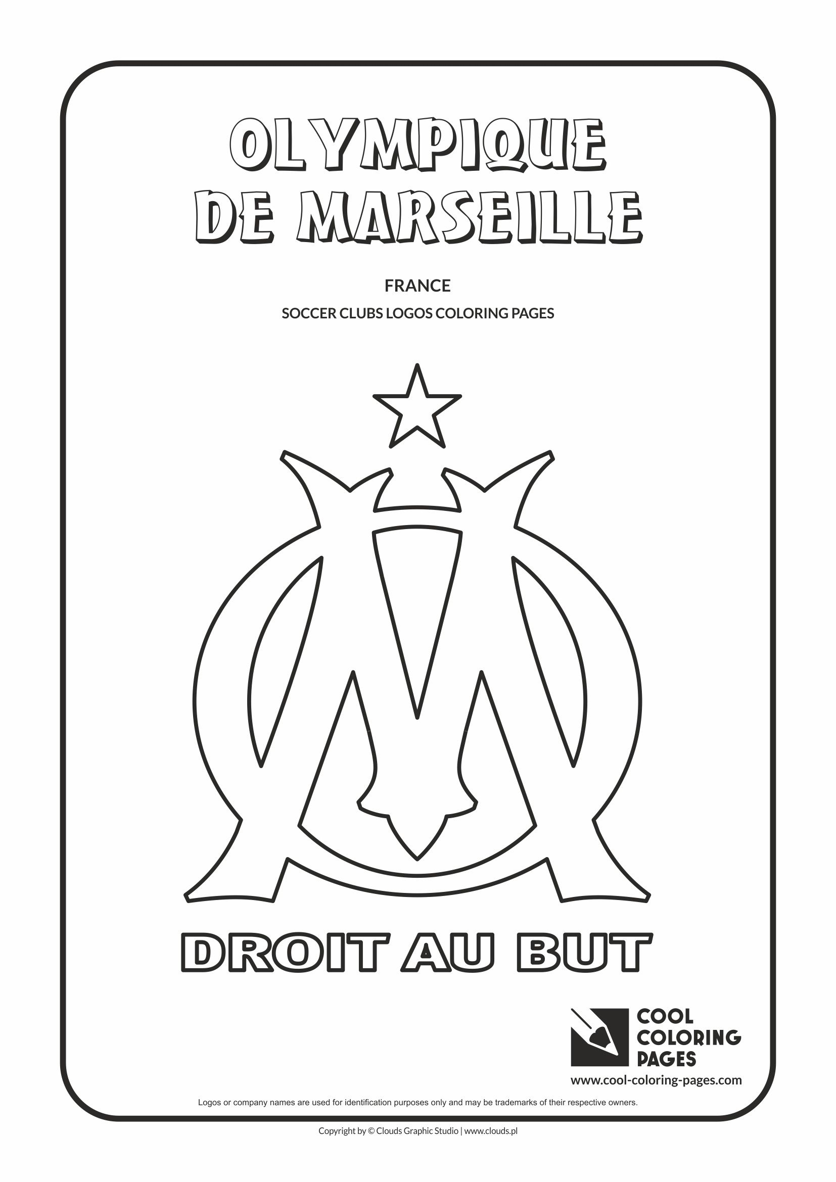 Olympique De Marseille Logo Coloring Coloring Page With Olympique Marsylia Cool Coloring Pages Flag Coloring Pages Cool Coloring Pages Coloring Pages